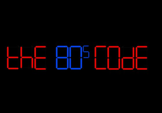 the 80s code album by Ian Robinson
