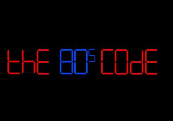 the 80s code album by Ian Robinson